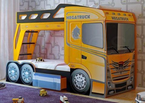 Кровать машина грузовик Мега Трак