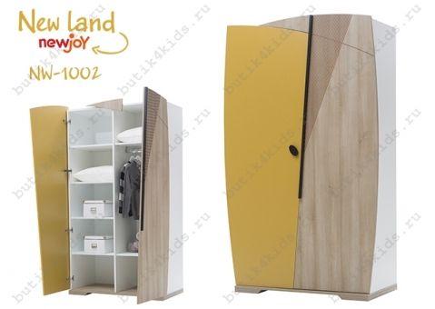 Шкаф 2-х дверный New Land NW-1002