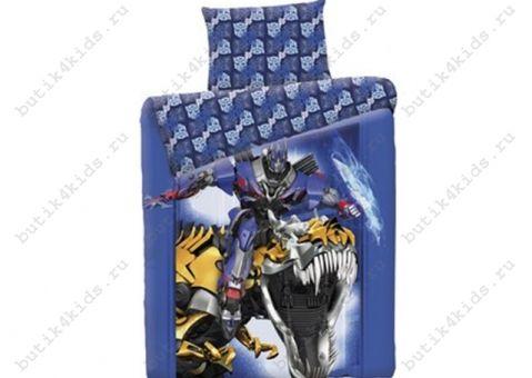Комплект постельного белья Transformers Blue