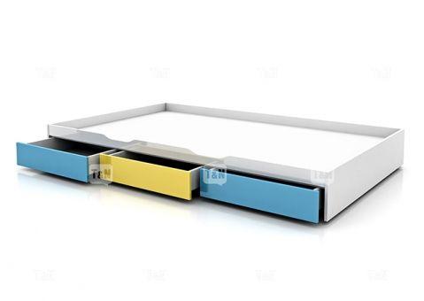 Кровать ящик выкатная Huson