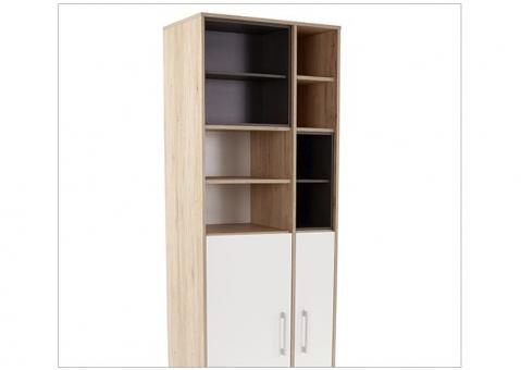 Книжный стеллаж BOX Wojcik узкий