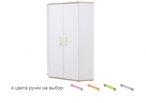 Шкаф угловой AMAZON WOJCIK белый