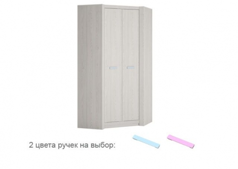 Шкаф угловой LILO WOJCIK с фактурой дерева