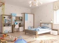 Детская кровать MIX BUNNY ABC-King №1