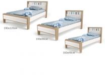 Детская кровать MIX BUNNY ABC-King №2