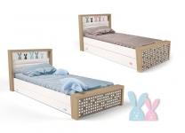 Детская кровать MIX BUNNY ABC-King №3 с ящиком