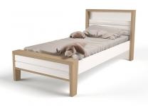 Детская кровать с мягким изголовьем MIX ABC-King №2