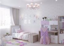 Мебель MIX BUNNY ABC-King pink для девочек