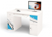 Компьютерный стол ЛаМан ABC-King с тумбами