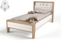 Кровать MIX Ловец снов ABC-King №2 с мягким изножьем