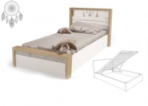 Кровать MIX Ловец снов ABC-King №5 с подъемным механизмом