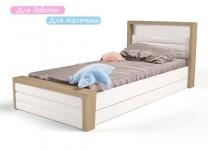 Мягкая кровать MIX ABC-King №4 с ящиком