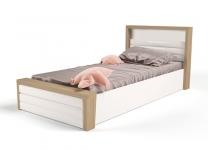 Мягкая кровать MIX ABC-King №6 с подъемным механизмом