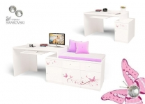Стол модульный Фея ABC для девочки