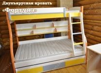 Двухъярусная кровать Фортуна