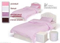 Детская кровать Princess со стразами Swarovski