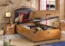 Кровать Black Pirate Cilek KS-1706 с подъемным механизмом