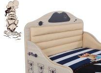 Кровать Pirat Advesta с высоким изножьем