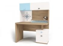 Стол с надстройкой MIX OCEAN ABC-King морской