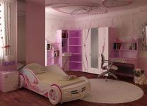 Шкаф с зеркалом Принцесса Адвеста 2-дверный