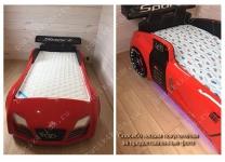 Кровать машина Audi Turbo Sport