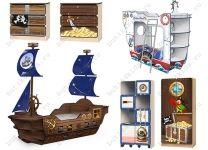 Детская мебель Мечта Пирата