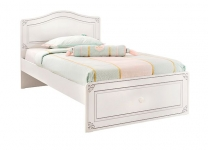 Белая кровать Selena Cilek 20.55.1301.00 и 20.55.1303.00