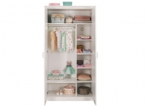 Белый двухдверный шкаф Selena Cilek 20.55.1001.00