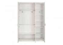 Белый трехдверный шкаф Selena Cilek 20.55.1002.00