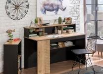 Надстройка к большому письменному столу Black и White Cilek Арт.1104