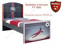 Кровать классика Футбол Football Cilek F...