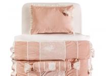 НАБОР Romantic Cilek AKS-4482: покрывало с подушками