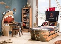 Письменный стол Акула Black Pirate Cilek KS-1103