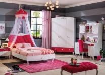 Розовая комната Yakut Cilek для девочки