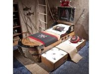 Ящик подкроватный выдвижной Black Pirate Cilek 20.13.1303.00