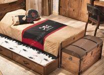 Ящик подкроватный выдвижной Black Pirate Cilek KS-1305, KS-1313