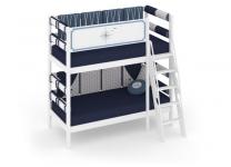 Двухъярусная кровать Регата с бортиком безопасности