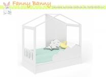 Кровать в виде домика Фанни Банни с бортом и магнитно-маркерной доской
