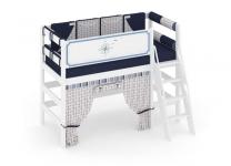 Кровать чердак Регата с бортиком безопасности