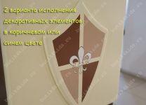 Кровать-чердак Рыцари (Knights) 2,5 яруса