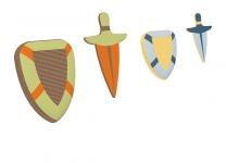 Подушки Рыцари