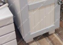 Стол письменный Белый Кит 2 модуля