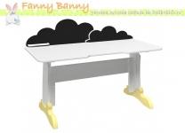 Стол растущий Фанни Банни с декоративной меловой панелью АртF3014
