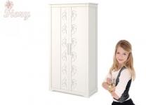 Шкаф двустворчатый Фиори AndiOlly для девочки