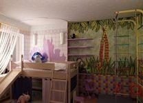 Дизайн: Детская комната Джунгли