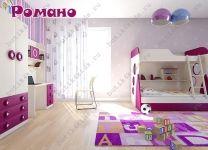 Детский шкаф для одежды Романо