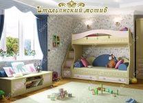 Ступени с ящиками для кровати-чердака Итальянский мотив Гармония