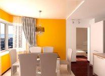 Дизайн: Гостиная и кухня Солнечное настроение
