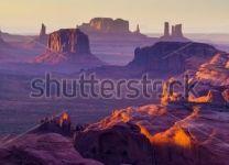 Фотообои Большой каньон на закате