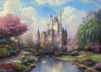 Фотообои детские Сказочный замок